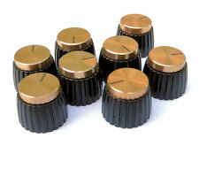 Gold Knob for Marshall Amplifier pack of 8 knobs