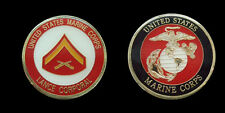 US MARINE CORPS LANCE CORPORAL CHALLENGE COIN MILITARY COLLECTIBLE COINS