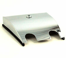 Chrome Lower Dash Extension Pane Cover Harley Electra Road Glide FLHT FLTR