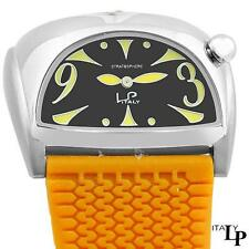 LP Italy STRATOSPHERE Women's Watch, 4311.20.277, Mustard Yellow Rubber Strap