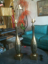 Westwood Industries Lamps Brass Vintage Mod Modern Pair