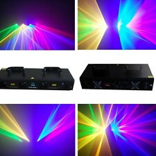 4 lens 500mw RGYV Party DMX disco dj stage laser Lighting show equipment project