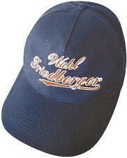 """BASEBALLCAP mit Stick """"WAHL FRIEDBERGER"""" NEU (68894) Cap Kappe Baumwollcap"""