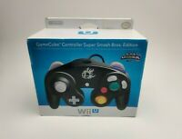 (NEW) Nintendo GameCube Controller Wii U Super Smash Bros. Edition Black(SEALED)