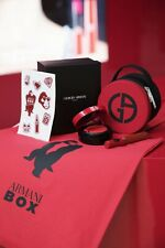 ARMANI BOX GIFT SET HAND BAG, TOTE, STICKER SET VIP EVENT GIFT NEW AND AUTHENTIC