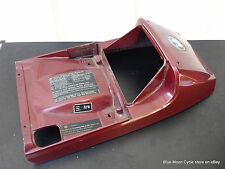 BMW Rear Seat Cowl Cover red K100 #05091716 52531450657 OEM