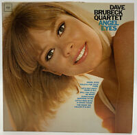 Dave Brubeck Quartet Angel Eyes VG+ Columbia Jazz Record Album CL 2348 Vintage
