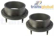 Front Upper Coil Spring Isolator Turret Rings for Land Rover Discovery 2