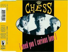 Chess Maxi CD I Need You (Curious Love) - Germany (M/EX+)