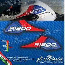 2 Adesivi Fianco Serbatoio Moto BMW R 1200 gs Motorrad 2004 2008 30 years