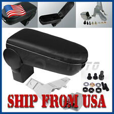 US Car Center Console Armrest Box Black For VW Golf Jetta Bora GTI MK4 99-04 FM