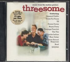THREESOME SOUNDTRACK 1994 CD U2 BRYAN FERRY THE THE JELLYFISH NEW ORDER