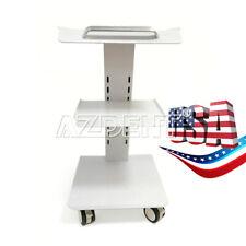 Medical Trolley Cart Mobile Steel Cart Trolley Dental Equipment Double Castors
