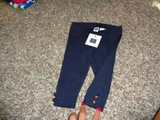 NWT NEW JANIE AND JACK 3-6 NAVY BLUE LRGGINGS