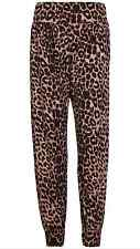 New Ladies Women's Hareem Baggy Trousers Printed Pants plus Size 8-26