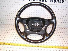 Mercedes 2003 C240 W203 Black steering Genuine MBZ OEM 1 Wheel without air bag