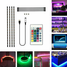 DC 5v 5050 RGB TIRA DE LUCES LED Tv Parte Trasera Kit iluminación + USB