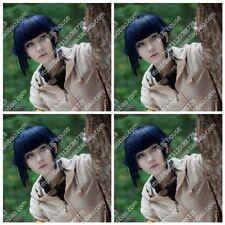 Fashion Popular Cosplay Short Wigs Hinata Hyuga Blue-black Short Hair @@@3