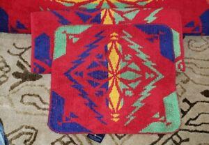 6pc Set Vintage Ralph Lauren Southwestern  Aztec Navajo Copper Mountain Towels