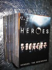 HEROES The BEGINNING NON-SPORTS TV SET 90 CARDS BASE SET 2007 Topps
