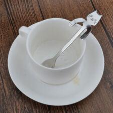 Cucchiaio acciaio GATTINO gatto caffè tè latte mattina cucchiaino dolce zucchero