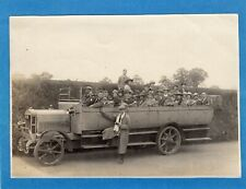 More details for charabanc  photograph 1921 outing to cobham kent  not postcard af28