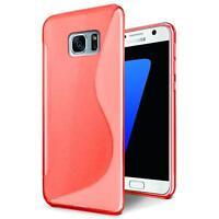Handy Hülle Samsung Galaxy S7 Edge Schutz Case Silikon Cover Tasche Schutzhülle