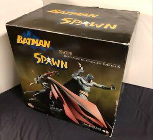 New In Box NIB Batman & Spawn DC Direct McFarlane Toys Statue