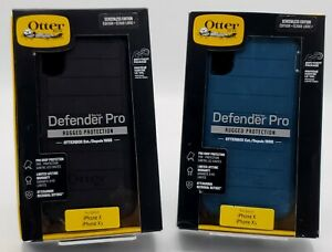 "New Rugged Case by Otterbox Defender Pro for 5.8"" iPhone XS & iPhone X Colors"