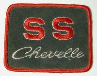 "4"" Old Vintage 1970s CHEVY CHEVROLET SS CHEVELLE CAR UNIFORM JACKET PATCH"