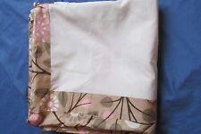 New Dwell Studio Baby/Infant Garden Blossom Crib Skirt Pink~Beige Floral