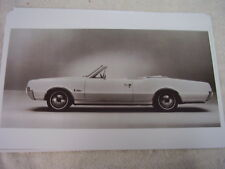1967 OLDSMOBILE CUTLASS CONVERTIBLE   11 X 17  PHOTO  PICTURE   PIC 2