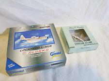 1:400 Aeroclassics Alaska Convair CV-440 & GeminiJets Lockheed L-382B