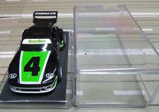 Für H0 Slotcar Racing Modellbahn ---  Porsche mit Tyco Motor und Klarsichtbox