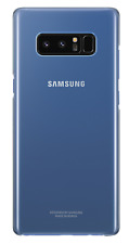 Carcasa Samsung Note8 Clear cover Deep Blue