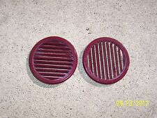 1980 YAMAHA ENTICER 340 HOOD VENTS ROUND RED