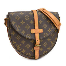 Auth LOUIS VUITTON Monogram Chantilly M51233 Crossbody Bag Brown Canvas