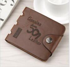 de6525545c4d Fashion Mens Genuine Leather Bifold Wallet Credit/ID Card Holder Slim Coin  Purse