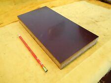 "BROWN PHENOLIC FLAT STOCK machinable micarta sheet bar plate 1 1/4"" x 6"" x 12"""