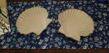 "Pottery Barn Under The Sea Shell Plates 9""  Set of 2"