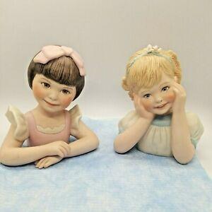 LL Knickerbocker Marie Osmond Fine Porcelain Angelic & Sweetness Bust Number 81