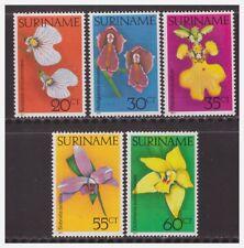 Surinam / Suriname 1977 Orchidee orchids MNH