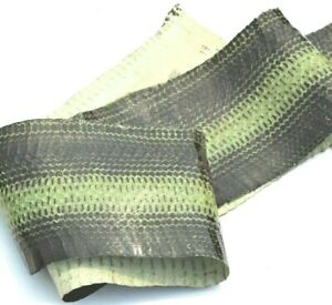 Two-tone Snake Skin Hide Leather Snakeskin Craft supply Green