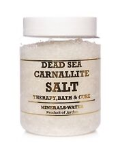 500g Dead Sea Carnallite salt from Jordan•Natural product•theraphy•100% Pure•