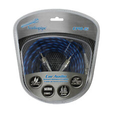 Audiopipe CPM15 Platinum Plated Interconnect Cable 15Ft