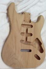 2 Piece Solid Alder Stratocaster style strat body 4lbs 3oz #2153