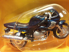 MAISTO Road & Track - 1/18 Scale Motorcycle Metallic Blue Triumph Sprint RS 955i