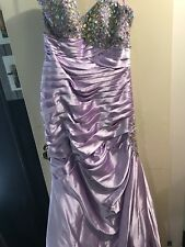 Lavender prom/pageant dress