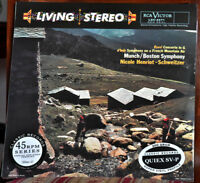 AUDIOPHILE CLASSIC RECORDS RAVEL Concerto in G d'Indy  200g 45rpm 4LP Set SEALED