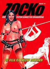 ZOCKo #13 -Comic für Erwachsene // Horror-SciFi